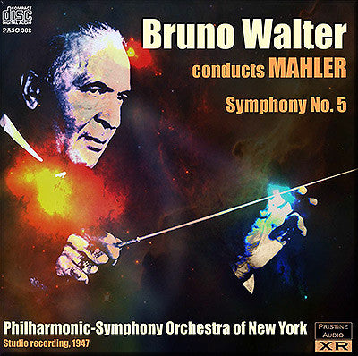 WALTER conducts Mahler, Symphony No. 5 (1947) - PASC382