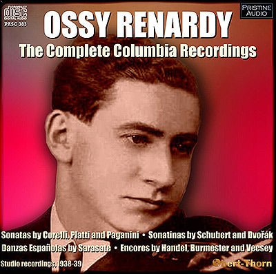 OSSY RENARDY The Complete Columbia Recordings (1938/39) - PASC383