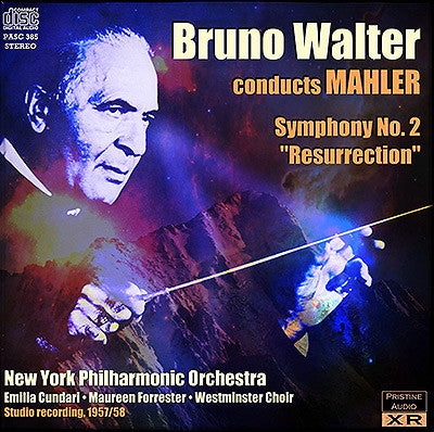 WALTER conducts Mahler's Second Symphony (1957-8) - PASC385