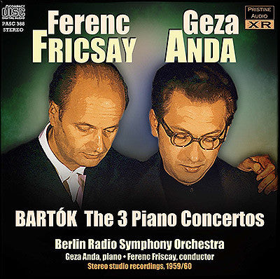 BARTOK The Three Concertos for Piano and Orchestra (1959/60) - PASC388