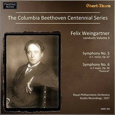 The Columbia Beethoven Centennial Symphony Series, Volume 3 (1927) - PASC399