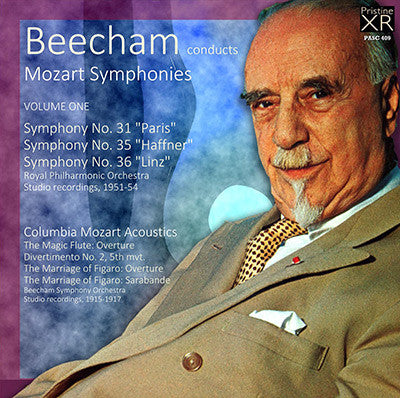 BEECHAM conducts Mozart, Volume 1 (1915-54) - PASC409