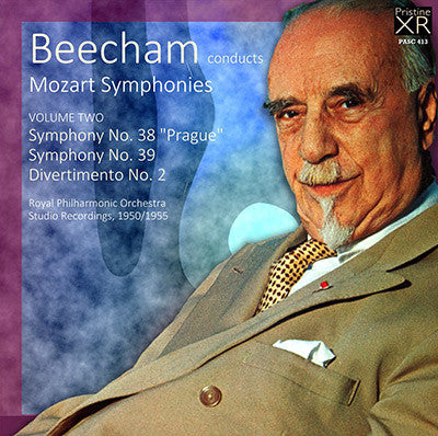 BEECHAM conducts Mozart, Volume 2 (1950/55) - PASC413