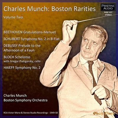 MUNCH Boston Rarities Volume 2 (1949-58) - PASC417
