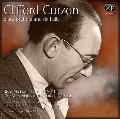 CURZON plays Brahms and de Falla (1946/51) - PASC423