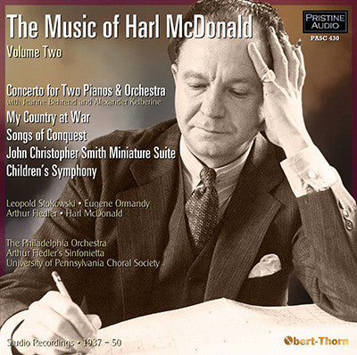 The Music of Harl McDonald, Volume 2 (1937-50) - PASC430