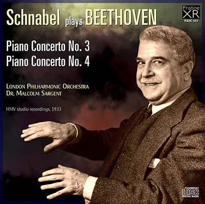 SCHNABEL Beethoven: Piano Concertos 3 & 4 (1933) - PASC433