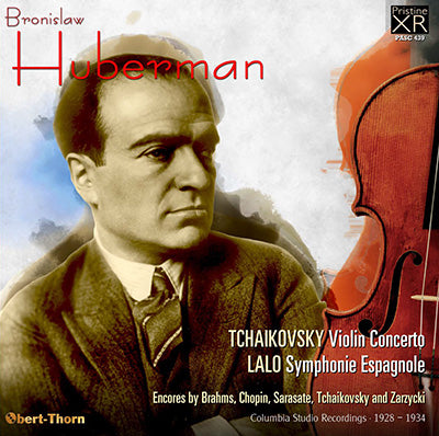 HUBERMAN plays Tchaikovsky and Lalo (1928-34) - PASC439