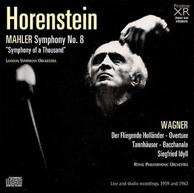 HORENSTEIN Mahler: Symphony No. 8; Wagner: Opera Excerpts (1959/62) - PASC440