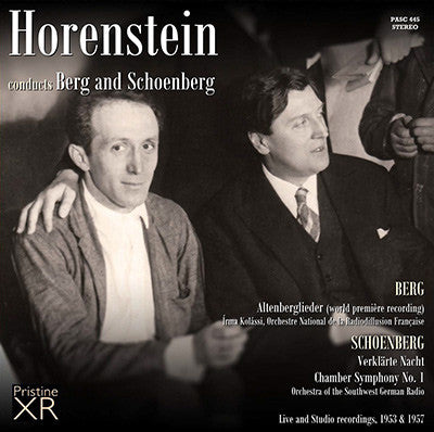 HORENSTEIN conducts Berg and Schoenberg (1953/57) - PASC445