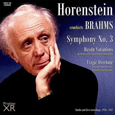 HORENSTEIN Brahms: Symphony No. 3, Haydn Variations, Tragic Overture (1956/57) - PASC449