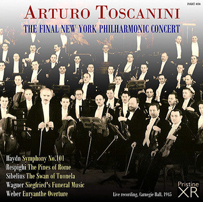 TOSCANINI The Final New York Philharmonic Concert (1945) - PASC454
