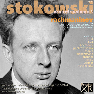 STOKOWSKI Acoustic, Volume 3 (1917-24) - PASC471 - CD