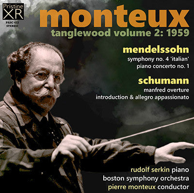 MONTEUX at Tanglewood, Volume 2 (1959) - PASC473
