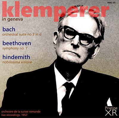 KLEMPERER in Geneva: Bach, Beethoven, Hindemith (1957) - PASC475