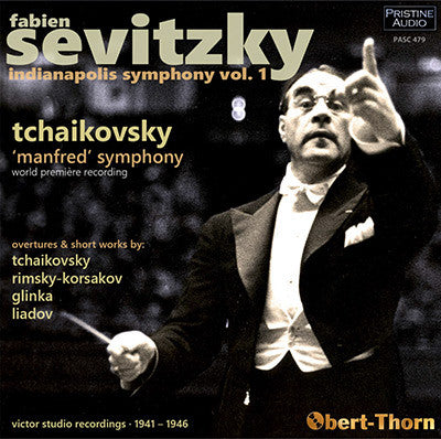 SEVITZKY and the Indianapolis Symphony, Volume 1 (1941-46) - PASC479
