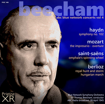 BEECHAM The ABC Blue Network Concerts, Volume 4 (1945) - PASC480