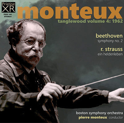 MONTEUX at Tanglewood, Volume 4 (1962) - PASC481