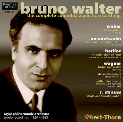 WALTER The Complete Acoustic Columbia Recordings (1924-25) - PASC482