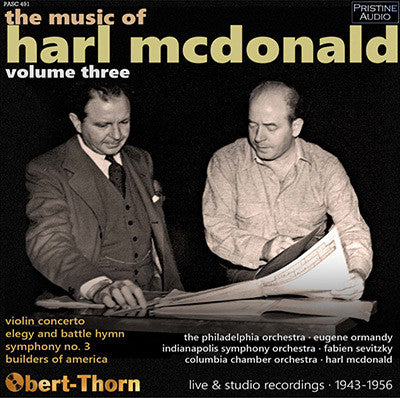 The Music of Harl McDonald, Volume 3 (1943-56) - PASC491