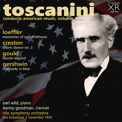 TOSCANINI conducts American Music, Volume 1 (1942) - PASC495