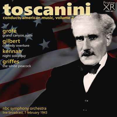 TOSCANINI conducts American Music, Volume 2 (1943) - PASC497