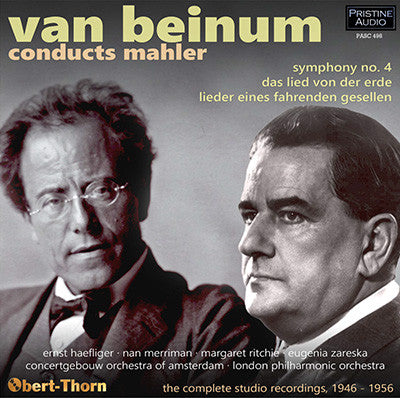 VAN BEINUM conducts Mahler (1946-56) - PASC498