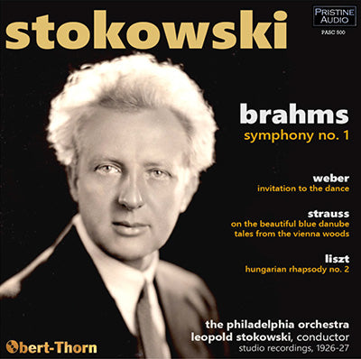 STOKOWSKI The Philadelphia Brahms Symphony Cycle (1926-33) - PABX025