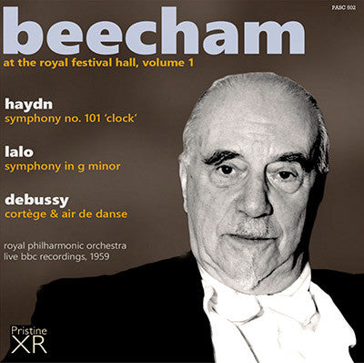 BEECHAM at the Royal Festival Hall, Volume 1: Haydn, Lalo, Debussy (1959) - PASC502