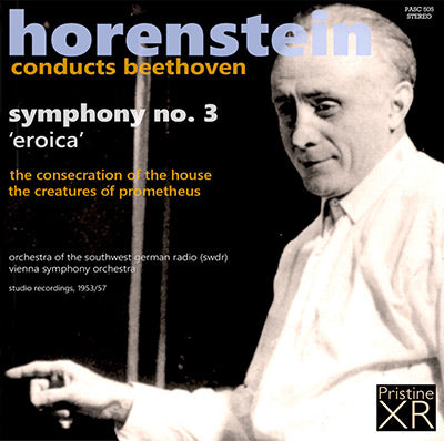 HORENSTEIN Beethoven: Eroica Symphony, Overtures (1953/57) - PASC505