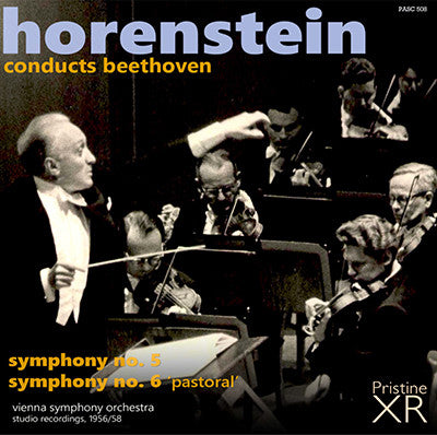 HORENSTEIN Beethoven: Symphonies Nos. 5 and 6 'Pastoral' (1956, 1958) - PASC508