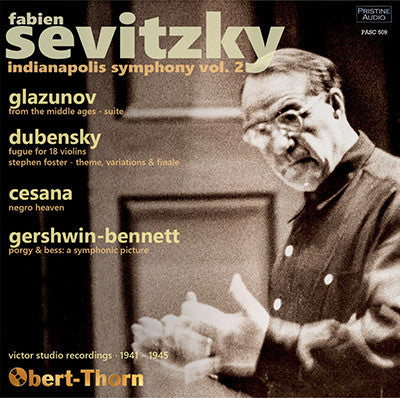 SEVITZKY and the Indianapolis Symphony, Volume 2 (1941-45) - PASC509