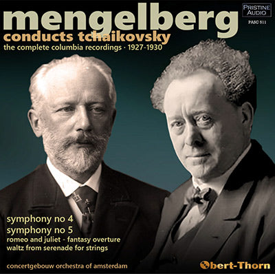 MENGELBERG conducts Tchaikovsky - The Complete Columbia Recordings (1927-1930) - PASC511