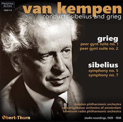 KEMPEN conducts Sibelius and Grieg (1939-50) - PASC514