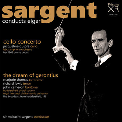 SARGENT conducts Elgar: Cello Concerto, The Dream of Gerontius (1961/62) - PASC525
