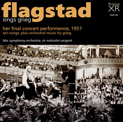 FLAGSTAD sings Grieg - Her Last Concert (1957) - PASC528