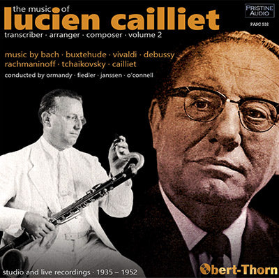 The Music of LUCIEN CAILLIET Volume Two (1935-52) - PASC532