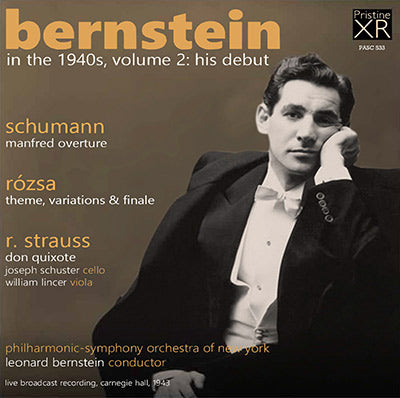 BERNSTEIN in the 1940s Volume 2: His Debut (1943) - PASC533