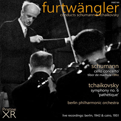 FURTWÄNGLER conducts Schumann and Tchaikovsky (1942, 1951) - PASC545