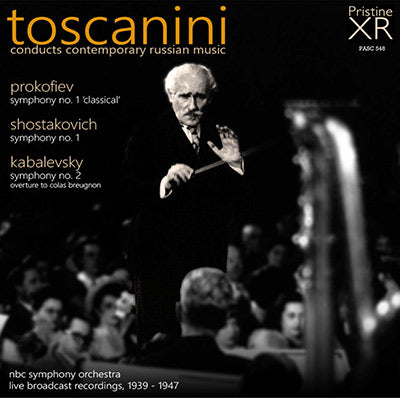 TOSCANINI conducts Contemporary Russian Music (1939-47) - PASC548
