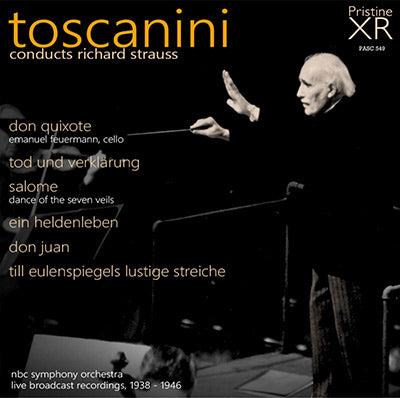 TOSCANINI conducts Richard Strauss (1938-46) - PASC549