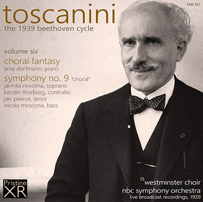 TOSCANINI The 1939 Beethoven Cycle, Volume 6 (1939) - PASC557