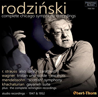ARTUR RODZIŃSKI and the Chicago Symphony Orchestra - Complete Recordings (1947/52) - PASC569