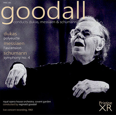 GOODALL conducts Dukas, Messiaen & Schumann (1961) - PASC581
