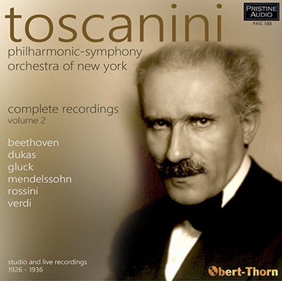 TOSCANINI Philharmonic-Symphony Orchestra of New York Complete Recordings ∙ Volume 2 (1926-36) - PASC588
