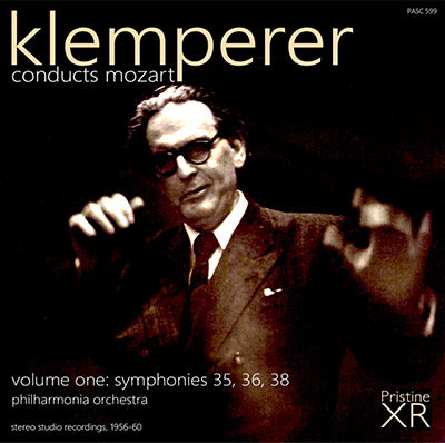 KLEMPERER conducts Mozart, Vol. 1 (1956-60) - PASC599
