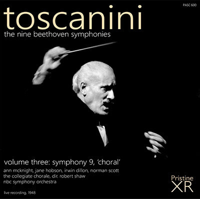 TOSCANINI Beethoven - The Symphonies, Vol. 3 (1948) - PASC600