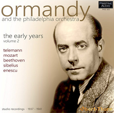 ORMANDY and The Philadelphia Orchestra - The Early Years ∙ Volume 2 (1937-41) - PASC605