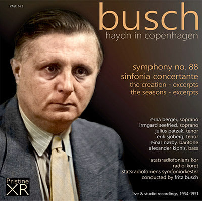 BUSCH conducts Haydn in Copenhagen (1934-51) - PASC622