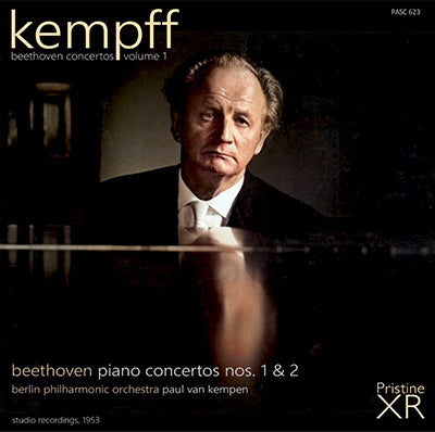 KEMPFF The Beethoven Piano Concertos, Volume 1 (1953) - PASC623